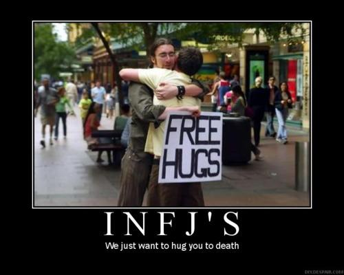 hugs1 Information about the INFJ personality type