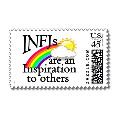 i n f j postage p172103487287209086enw64 400 Information about the INFJ personality type