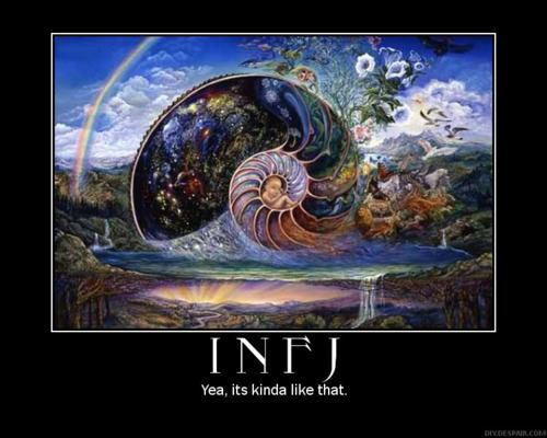 infj1 Information about the INFJ personality type